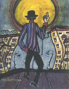 """Dibujos del libro """"Muy personal"""" de Joaquín Sabina"""