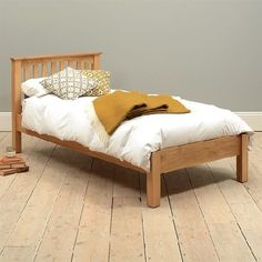Dalton Oak 3ft Single Bed 350.002 Quality wooden furniture at great low prices from PineSolutions.co.uk. Get Free Delivery and Exchanges on all orders. http://www.MightGet.com/january-2017-11/dalton-oak-3ft-single-bed-350-002.asp