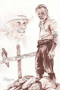 """""""Lonesome Dove's"""" Woodrow and Gus. Rodeo Cowboys, Real Cowboys, Best Western, Western Art, Western Signs, Cowboy Art, Cowboy And Cowgirl, Lonesome Dove Quotes, Cowboy Theme Party"""