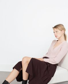 ASYMMETRIC TOP-View all-Tops-WOMAN | ZARA United Kingdom ALL THE COLOURS