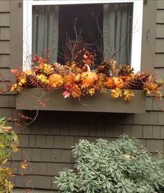 10 ötletes balkonláda dekoráció őszre
