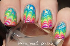 31DC2015 - Watermarble ~ More Nail Polish