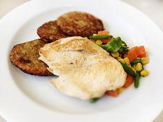 Denné menu Vranov | Grilované kuracie prsia na anglickej zelenine, zemiakové rosti - reštaurácia Hotel Patriot*** #hotel #restaurant