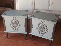 Coppia di comodini recuperati!  www.lauramoreni.it Laura Moreni Home&Co