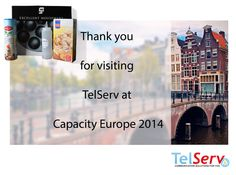 Thanks for visiting TelServ at Capacity Europe 2014! #CapacityEurope #Amsterdam #poffertjes