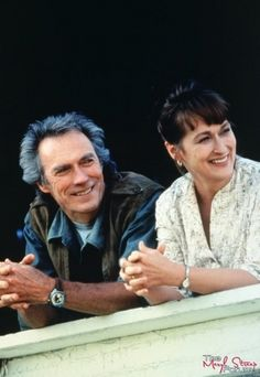Streep and Eastwood - 'The Bridges of Madison County' (1995).