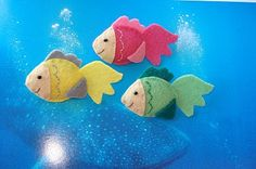 fish finger puppets...or fishin fish