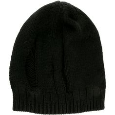 81f6fb6dde5 Pre-owned Tess Giberson Wool Rib Knit Beanie ( 145) ❤ liked on Polyvore  featuring accessories