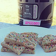 This was another entry for a contest on bb.com. (Thats why my username is in the pic )  CAKE BATTER PROTEIN FUDGE