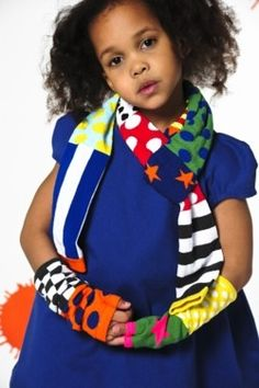 #BOdeBO mittens and scarf I www.spruitkinderkleding.nl