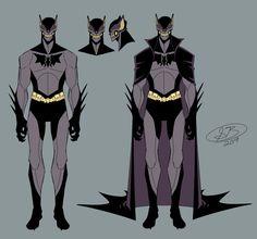 Batman Poster, Batman Art, Batman Robin, Batman Arkham, Animated Bee, Batman Redesign, Batman Painting, Character Designer, Hq Dc