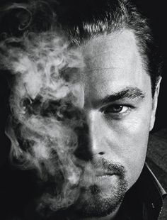 Leonardo DiCaprio. can i just say that no matter what he's doing, he is the sexy while doing it? :) celebrity crush!
