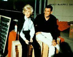 Doris Day and Rock Hudson.