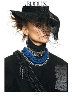 Vogue Paris March 2013 Editorial - Anna Selezneva