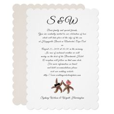 Wedding Welcome Letters With Starfish Design For DestinationBeach