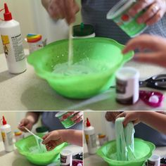 Super hero slime