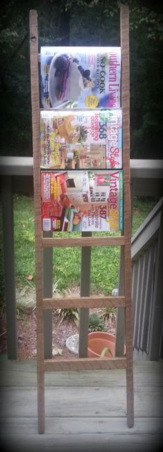 Vintage Horry County Tobacco Stick Ladder