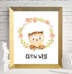 Nursery woodland prints woodland printables woodland
