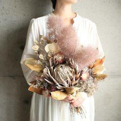Dried Flower Bouquet, Flower Bouquet Wedding, Dried Flowers, Dried Flower Arrangements, Floral Centerpieces, Floral Bouquets, Floral Wreath, Smoke Tree, Bouquet Images