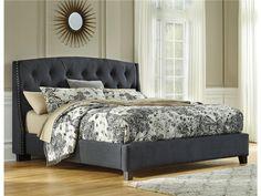 Kasidon Queen Bed - Kensington Furniture  - 1