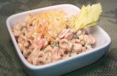 Smoked cheddar pasta salad (tastefully simple )