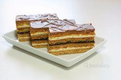 Medové rezy • recept • bonvivani.sk Slovak Recipes, Czech Recipes, Ethnic Recipes, Honey Cake, Christmas Baking, Sweet Recipes, Delish, Sweet Tooth, Food And Drink