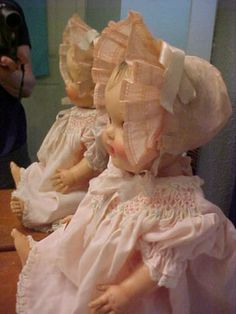 VERY RARE 1954 vinyl Constance Bannister Baby SUN RUBBER doll 18 (01/09/2013)