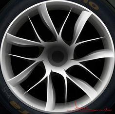 Mazda Furai wheel