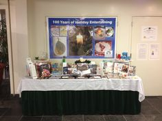 December Display Table in Northport