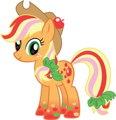 Applejack Rainbow Power