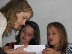 Teaching children in Albania with LV