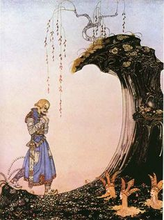 Kay Nielsen Buried Princesses