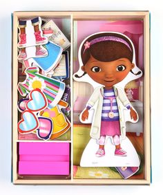 Another great find on #zulily! Doc McStuffins Dress-Up Magnetic Set by Doc McStuffins #zulilyfinds