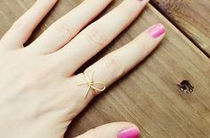 Yesterday's Sweetheart: Bow Ring