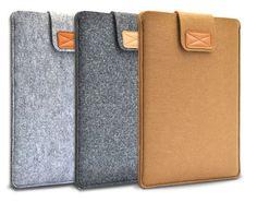 "Wool Felt Laptop Sleeve Case/ Notebook Bag /MacBook Air Pro Retina 13"" Cover #sponsored"