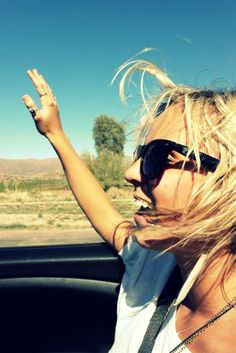 loving the wind in your hair