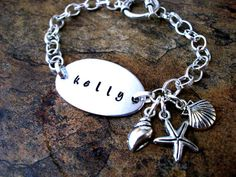 Personalized Jewelry Beach Jewelry Beach by CharmAccents on Etsy,
