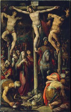 Stradanus - Crucifixion