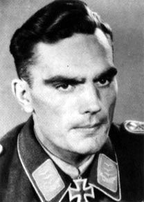 """Wilhelm Moritz (29 June 1913 - 2010) was a Luftwaffe ace and recipient of the Knight's Cross of the Iron Cross during World War II. During his career Wilhelm Moritz was credited with 44 victories in 500+ missions. On 7 July 1944, under leadership of Hauptmann Moritz, IV.(Sturm) Gruppe Jagdgeschwader 3 """"Udet"""" and two Gruppen of Bf 109s from Jagdgeschwader 300 led by Major Walther Dahl, they distinguished themselves exceptionally by shooting down of 28 four-engined bombers of the USAAF."""
