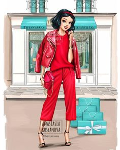 Russian Artist Illustrates How Disney Princesses Would Dazzle In Modern Luxury Brands Russian Artist Illustrates How Disney Princesses Would Dazzle In Modern Luxury Brands - bemethis Disney Princess Fashion, Disney Princess Pictures, Disney Princess Drawings, Disney Princess Art, Disney Drawings, Disney Style, Drawing Disney, Disney Art, Punk Disney