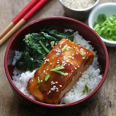 Easiest Salmon Teriyaki you can make!