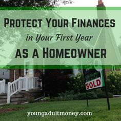 Plan ahead and budget for the unexpected. Learn how to better protect your finances if you decide to make the financial commitment of homeownership. Buying Your First Home, Home Buying, Paying Off Mortgage Faster, Mortgage Companies, Insurance Companies, Home Based Business Opportunities, Protecting Your Home, New Homeowner, Home Ownership
