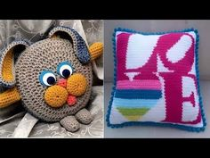 Almohadón Oso crochet - Paso a paso - YouTube