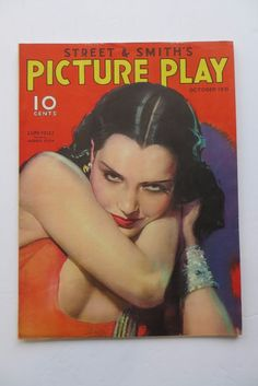 Picture Play Magazine October 1931 Lupe Velez by Modest Stein