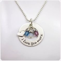 My favorite piece of jewelry. This is from the site where my son ordered it from. Mine is so similar to this one it's funny. I didn't notice that until now. Eventfully maybe I will post a picture of mine.
