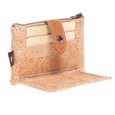 Kork Portemonnaie «Clip Black» Montado online kaufen in der Schweiz Dna, Clips, Clutch, Wallet, Fashion, Accessories, Personal Style, Natural Colors, Pocket Wallet