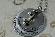 Hand Stamped Personalized Necklace by HeartsInYourJewelry on Etsy, $35.00