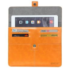 [$7.09] ENKAY For IPad Air Casual Commercial  Leather Case with Card…