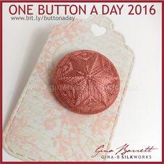 Day 24: Hurst Star #onebuttonaday by Gina Barrett