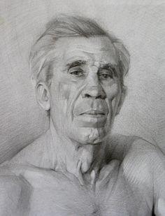 Портрет, натурщик